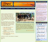 Snapshot of Campus Christian Fellowship website