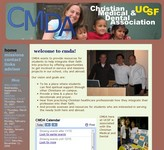 Snapshot of CMDA website